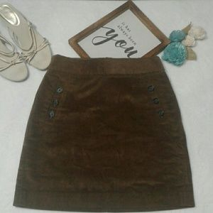 Banana Republic - Brown Corduroy Skirt